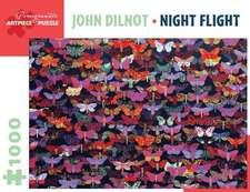 John Dilnot: Night Flight 1000-Piece Jigsaw Puzzle