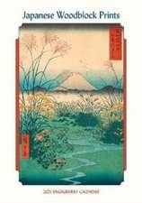 Japanese Woodblock Prints 2021 Engagement Calendar