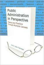 Public Administration in Perspective