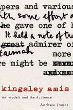 Kingsley Amis: Antimodels and the Audience