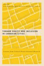 Toward Equity and Inclusion in Canadian Cities