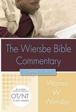 The Wiersbe Bible Commentary Complete Set [With CDROM]:  The Complete Old Testament in One Volume