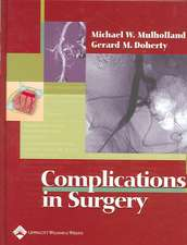 Complications in Surgery