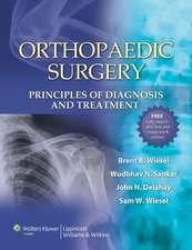 Orthopaedic Surgery: Principles of Diagnosis and Treatment