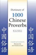 Dictionary of 1,000 Chinese Proverbs