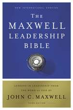 NIV, Maxwell Leadership Bible, 3rd Edition, Hardcover, Comfort Print: Holy Bible, New International Version