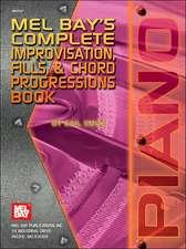 Complete Improvisation, Fills & Chord Progressions Book