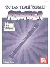 William Bay: You Can Teach Yourself Recorder