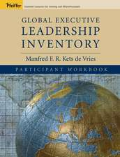 Global Executive Leadership Inventory (GELI), Participant Workbook