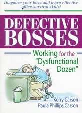 Defective Bosses