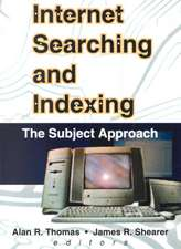 Internet Searching and Indexing