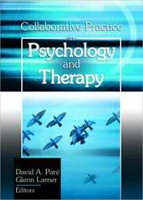 Collaborative Practice in Psychology and Therapy