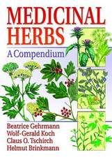 Medicinal Herbs:  A Compendium