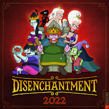 Disenchantment 2022 Wall Calendar