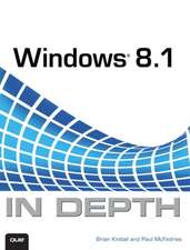 Windows 8.1 in Depth:  Build Your Own 3D Printer and Print Your Own 3D Objects
