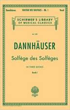 Solfege Des Solfeges - Book I: Schirmer Library of Classics Volume 1289 Voice Technique