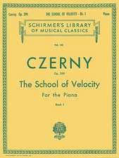 School of Velocity, Op. 299 - Book 1:  Piano Technique