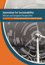 Innovation for Sustainability. African and European Perspectives