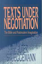 Texts Under Negotiation:  Slave Religion and Black Theology