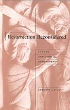 Resurrection Reconsidered:  A Biography