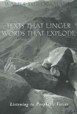 Texts That Linger Words That E