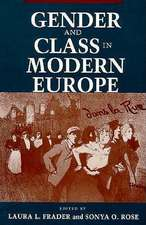 Gender and Class in Modern Europe