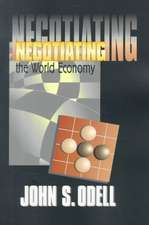 Negotiating the World Economy