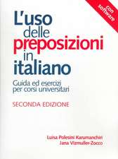 L'Uso Delle Preposizioni in Italiano/The Use of Prepositions in Italian