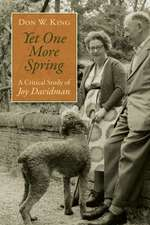 Yet One More Spring:  A Critical Study of Joy Davidman
