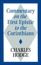 Commentary on the First Epistle to the Corinthians