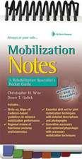 Mobilization Notes