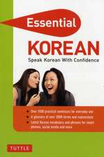 Essential Korean: Speak Korean with Confidence! (Korean Phrasebook and Dictionary)
