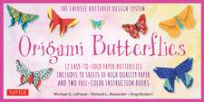Origami Butterflies Kit: The LaFosse Butterfly Design System - Kit Includes 2 Origami Books, 12 Projects, 98 Origami Papers: Great for Both Kids and Adults