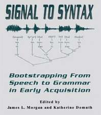 Signal to Syntax