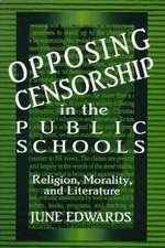 Opposing Censorship in Public Schools