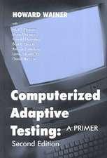 Computerized Adaptive Testing 2nd