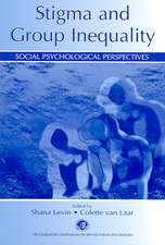 Stigma and Group Inequality:  Social Psychological Perspectives