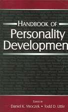 Handbook of Personality Development