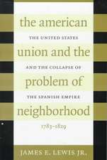 American Union and the Problem of Neighborhood