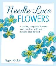 Needle Lace Flowers:  Creating Exquisite Flowers and Borders with Just a Needle and Thread