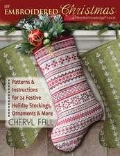 An Embroidered Christmas