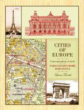 Cities of Europe Correspondence Cards