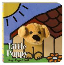 Little Puppy Finger Puppet Book:  The Adventures of Nat Love