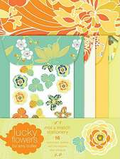 Lucky Flowers Mix & Match Stationery:  Extreme Junior Edition