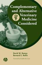 Complementary and Alternative Veterinary Medicine Considered