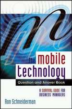 THE MOBILE TECHNOLOGY QUESTION