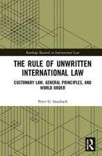 Rule of Unwritten International Law