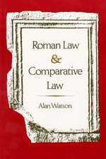Roman Law and Comparative Law