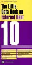 The Little Data Book on External Debt 2010