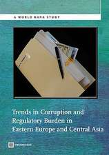 Trends in Corruption and Regulatory Burden in Eastern Europe and Central Asia